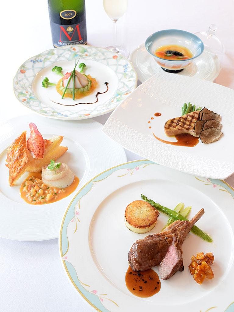 ル・クープル20周年記念コース料理